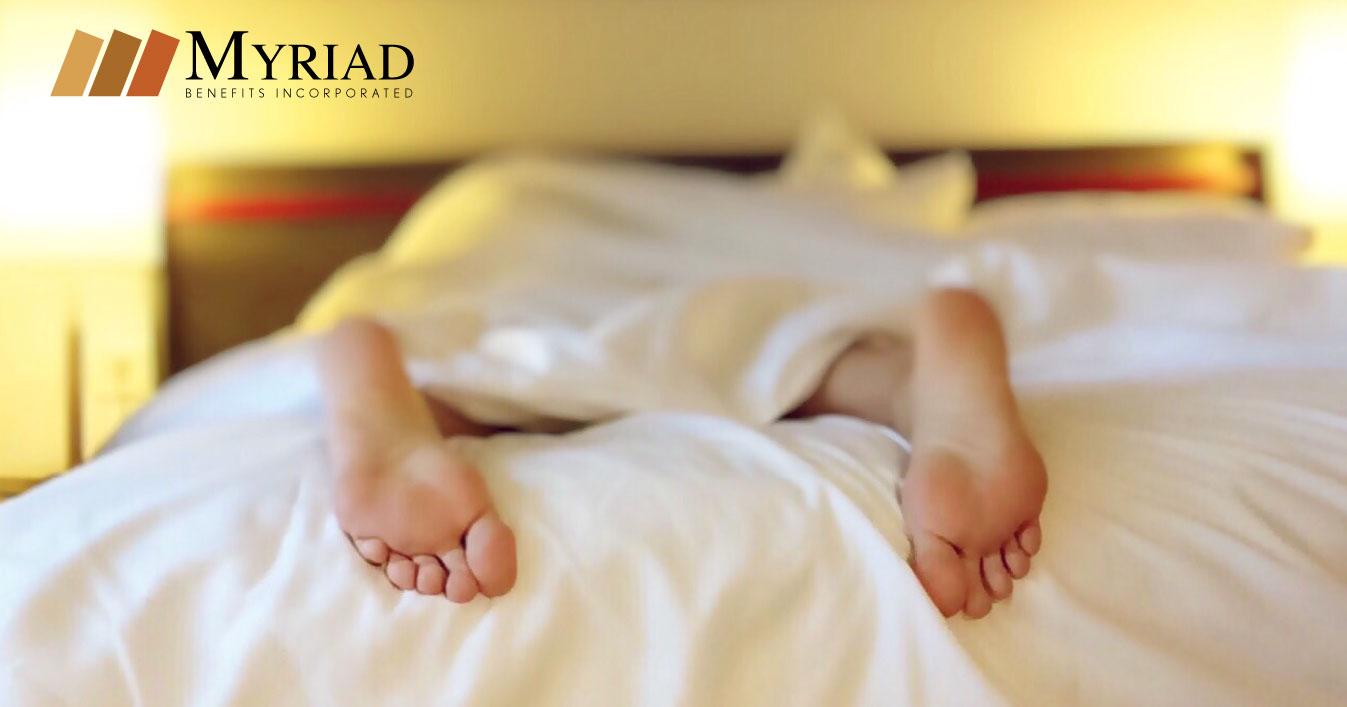 pies de persona que duerme