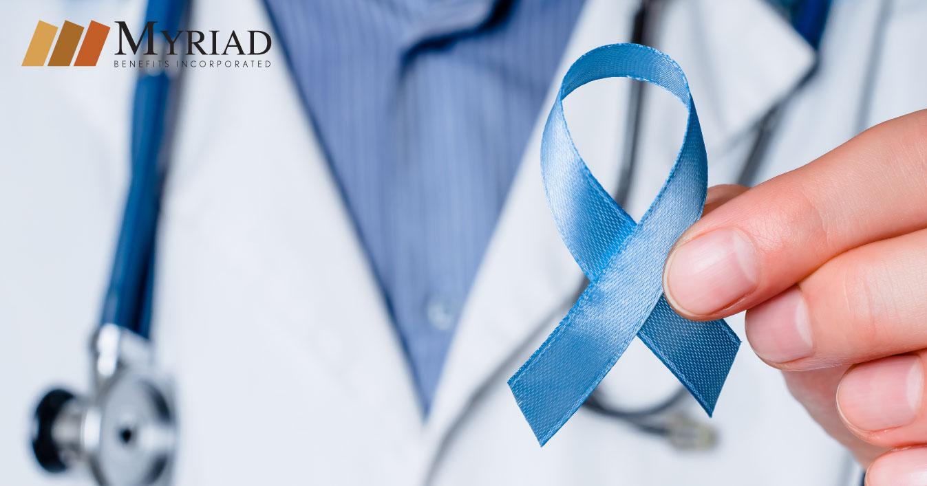 Lazo azul Cáncer de Próstata