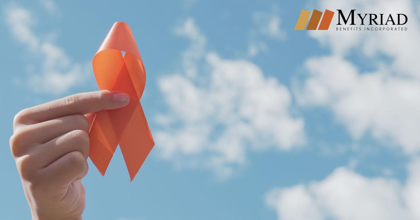 lazo anaranjado leucemia
